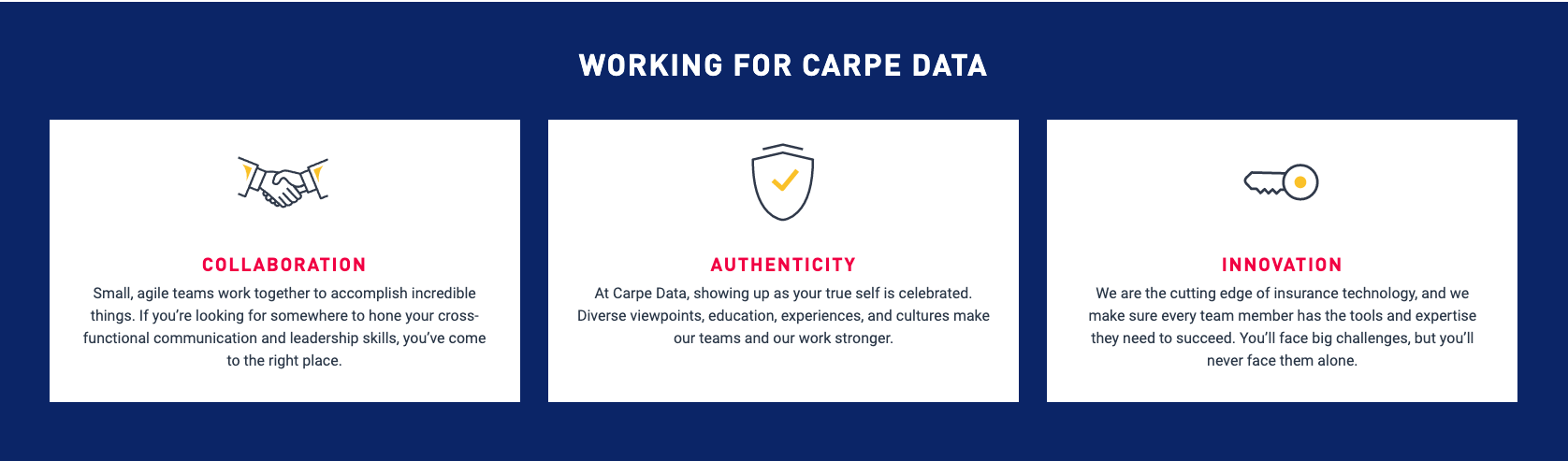 carpe data company perks
